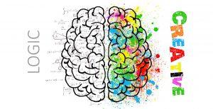 Kreativitätstechniken, Hirn, Gehirn, Hirnhälften
